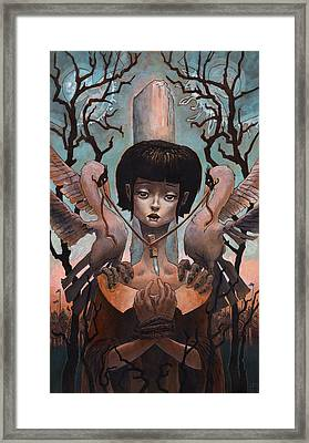 The Steady Heart  Framed Print by Ethan Harris