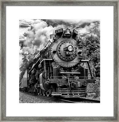 The Steam Age  Framed Print