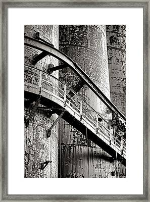 The Steel Citadel Framed Print by Olivier Le Queinec