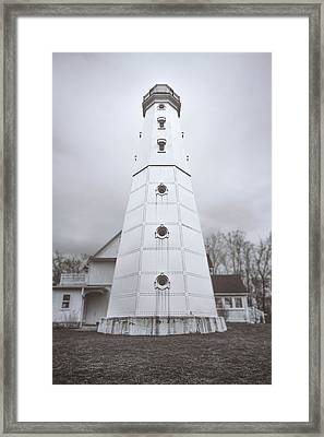 The Steel Tower Framed Print
