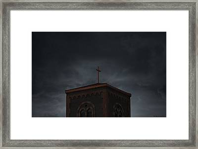 The Steeple Framed Print by Brian Gustafson