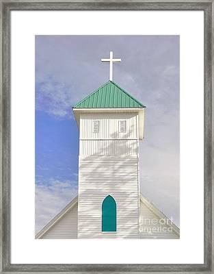 The Steeple Framed Print