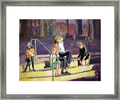 The Steppes Framed Print