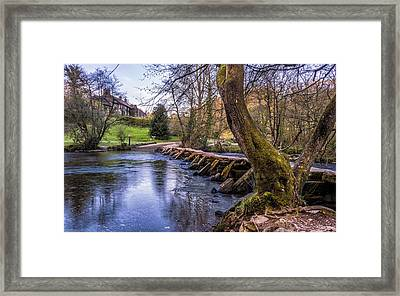 The Steps Framed Print