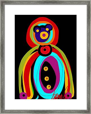 Mr. Teddy Bearitus Framed Print