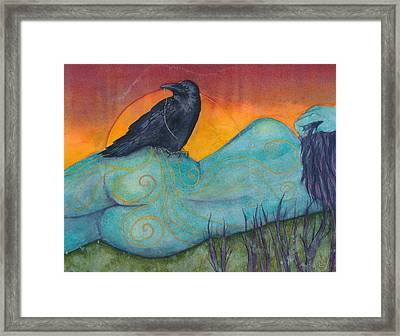 The Still Life With Crow Framed Print