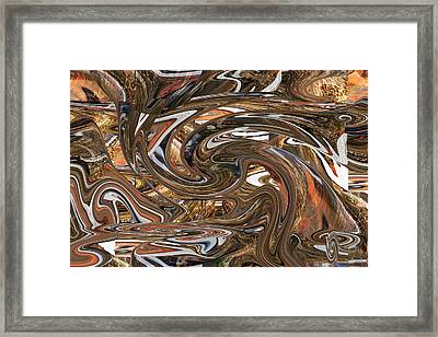 The Stirred Pot Framed Print by rd Erickson