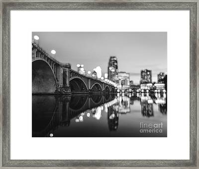 The Central Avenue Bridge Framed Print