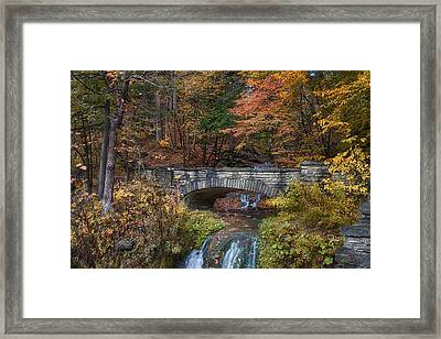 The Stone Bridge Framed Print