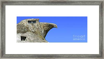 The Stone Eagle Of Atlantida Framed Print