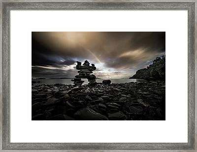 The Stone Man Framed Print by Jakub Sisak