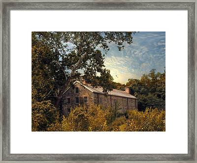 The Stone Mill Framed Print by Jessica Jenney