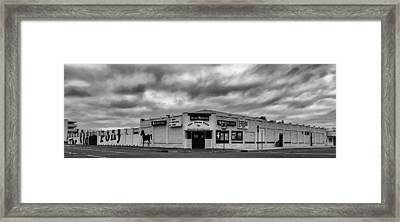 The Stone Pony Asbury Park New Jersey Black And White Framed Print