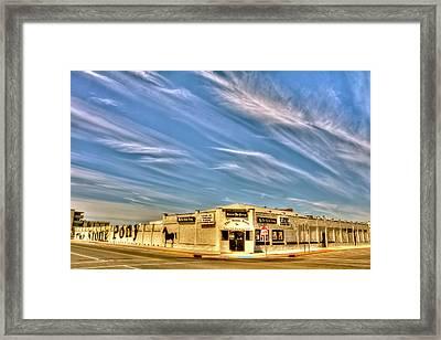 The Stone Pony Asbury Park Nj Framed Print by Geraldine Scull