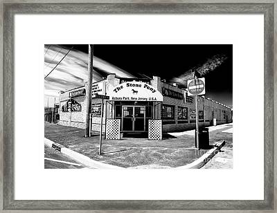 The Stone Pony Framed Print by John Rizzuto
