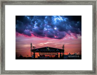 The Stone Pony Summer Stage Framed Print