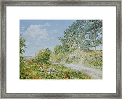The Stonebreaker Framed Print by George William Mote