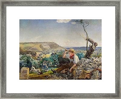 The Stonecutter Framed Print