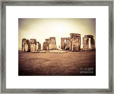 The Stones Framed Print