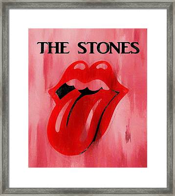 The Stones Poster Framed Print by Dan Sproul