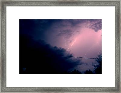 The Storm 1.1 Framed Print by Joseph A Langley