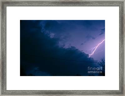 The Storm 1.2 Framed Print by Joseph A Langley