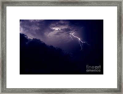 The Storm 1.3 Framed Print by Joseph A Langley