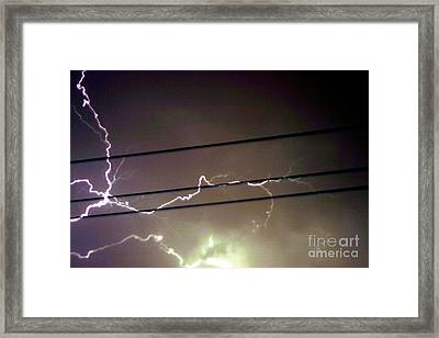 The Storm 1.4 Framed Print by Joseph A Langley
