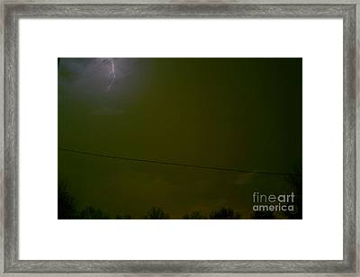 The Storm 2.1 Framed Print by Joseph A Langley