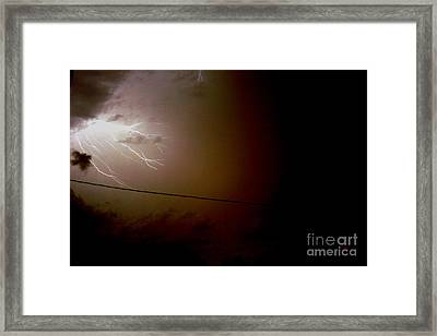 The Storm 2.2 Framed Print by Joseph A Langley