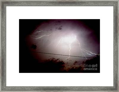 The Storm 2.3 Framed Print by Joseph A Langley