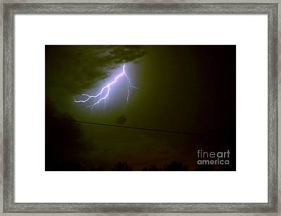 The Storm 2.4 Framed Print by Joseph A Langley