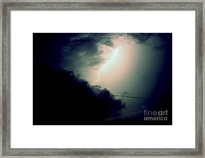 The Storm 2.6 Framed Print by Joseph A Langley
