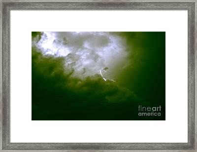 The Storm 2.7 Framed Print by Joseph A Langley