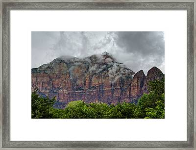 The Storm Clears Framed Print