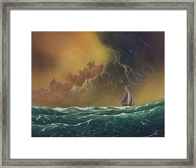 The Storm Framed Print by Don Griffiths