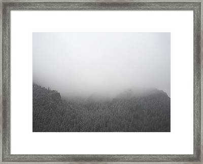 The Storm Is Coming Framed Print by Cassandra Wessels