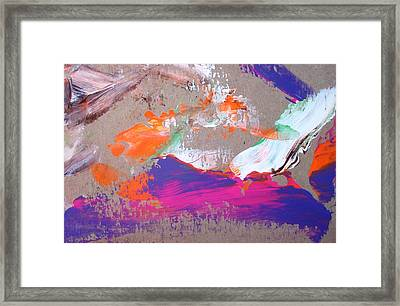 The Storm Left Just A Lot Of Sand Framed Print by Bruce Combs - REACH BEYOND