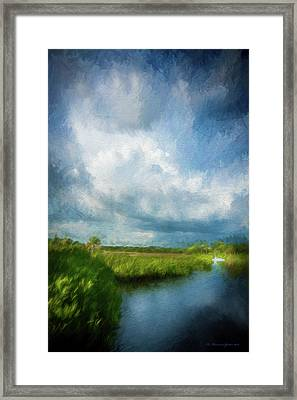 The Storm Framed Print by Marvin Spates
