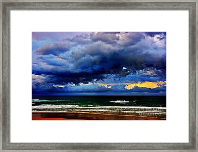 The Storm Roles In Framed Print by Blair Stuart