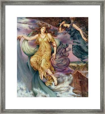 The Storm Spirits-detail-1 Framed Print