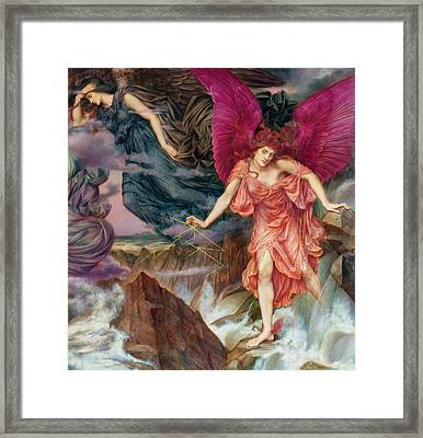 The Storm Spirits-detail-2 Framed Print