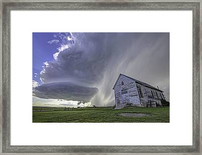 The Storm Will Pass Framed Print