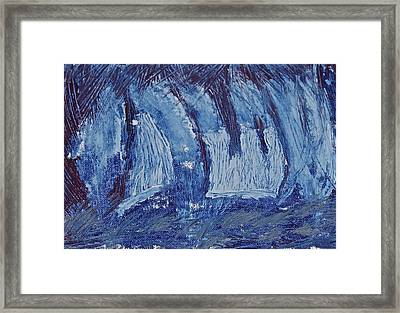 Framed Print featuring the painting The Storm by Xn Tyler