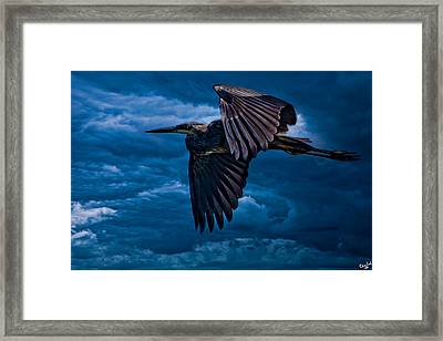 The Stormbringer Framed Print