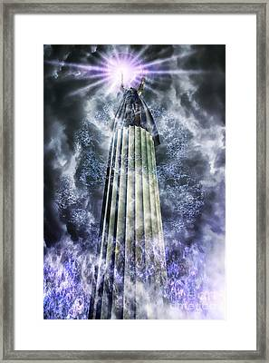 The Stormbringer Framed Print by John Edwards