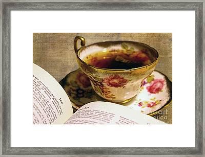 The Story Of Tea Framed Print