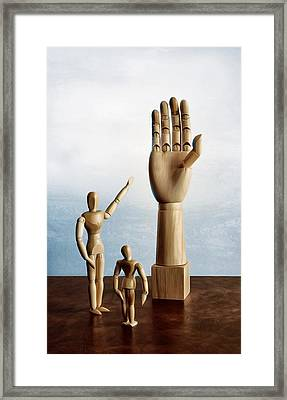 Framed Print featuring the photograph The Story Of The Creator by Mark Fuller