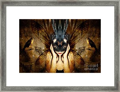 The Story Of What I Came To Be Framed Print by Heather King