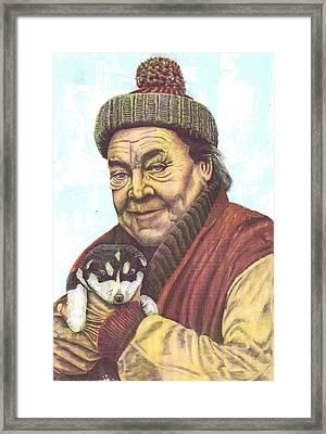 The Story Teller Framed Print by Richard Van Order
